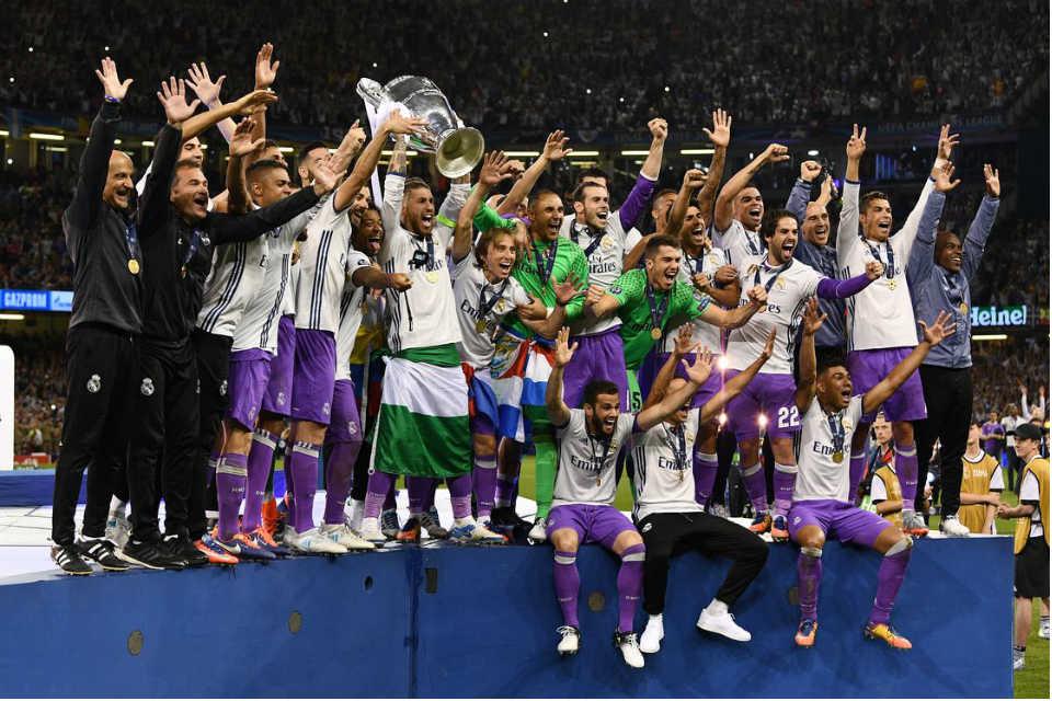 Real Madrid berhasil menjuarai final UCL
