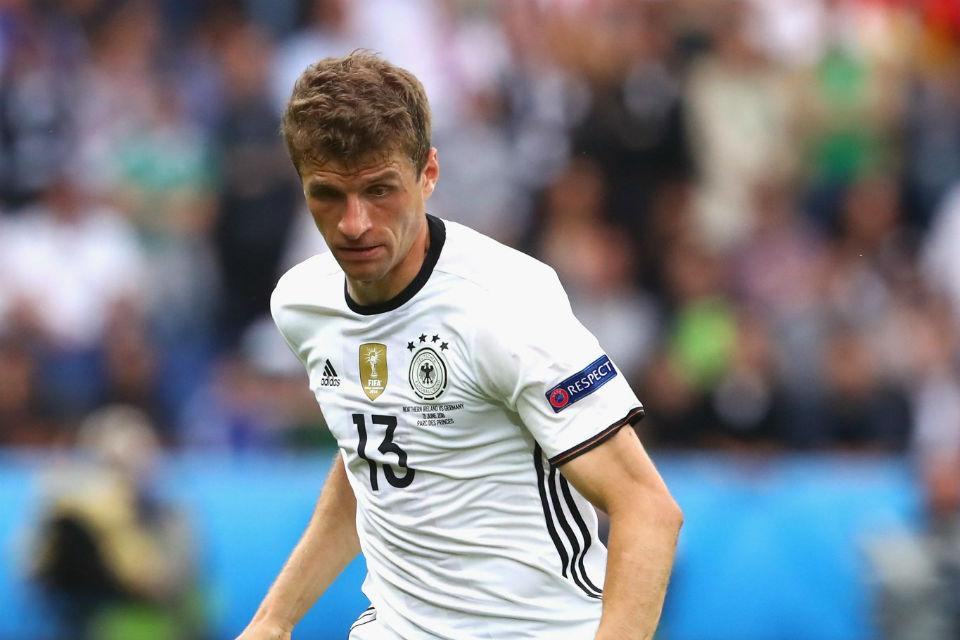 Thomas Muller tidak berhasil mencetak gol sepanjang Euro 2016