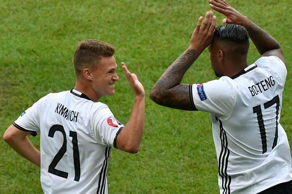 Kombinasi Boateng dan Kimmich di lini belakang membuat Jerman cleansheet hingga semifinal