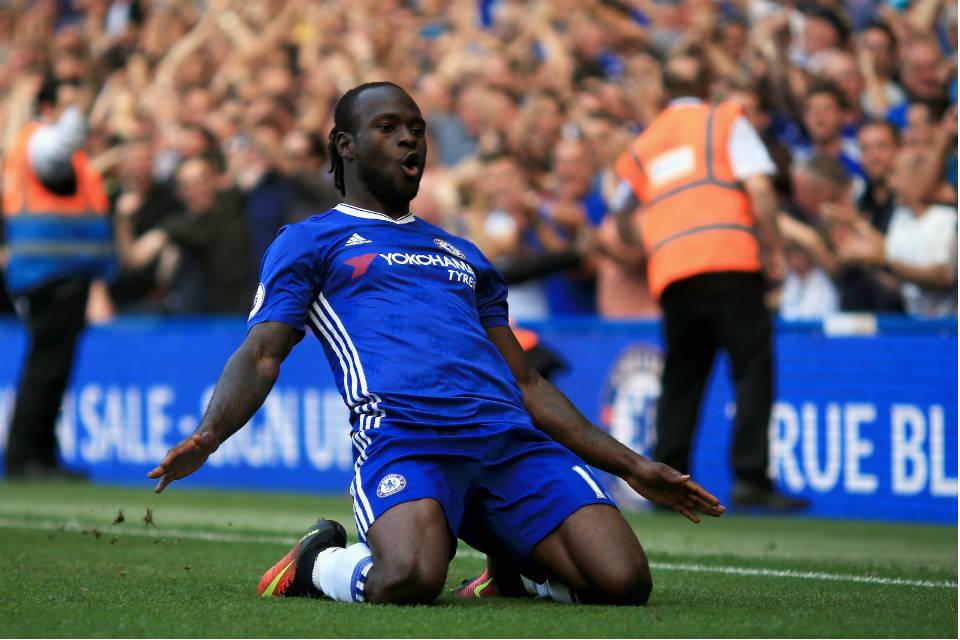 Moses bersinar dibawah kepelatihan Conte